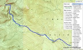 map us geological survey topographic maps and route visualization section hikers