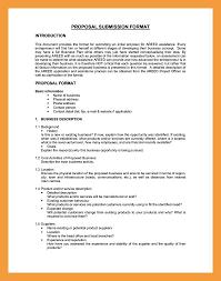 format of business proposal letter gallery letter samples format