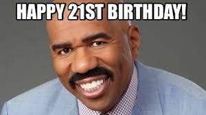 21st Birthday Meme - meme creator happy 21st birthday meme generator at memecreator org