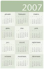 printable 2007 academic calendar trials ireland