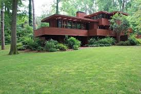 frank lloyd wright inspired home with lush landscaping atlanta s best exle of frank lloyd wright architecture for sale