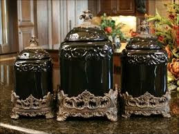 100 brown kitchen canisters certified international french