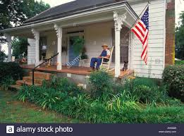 Old Man Rocking Chair American Flag Rocking Chair On Stock Photos U0026 American Flag