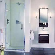 Shower Hinged Door Aqata Spectra Hinged Door Shower Enclosure Sp455 Recess Uk