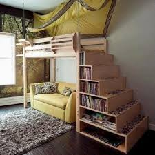 Elevated Dog Bed With Stairs 16 Totally Feasible Loft Beds For Normal Ceiling Heights