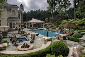Backyard Grill Chantilly by Building A Pool Is Just The Beginning Of Elaborate Backyard