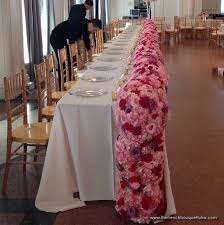 dusty rose table runner the french bouquet blog inspiring wedding event florals lots