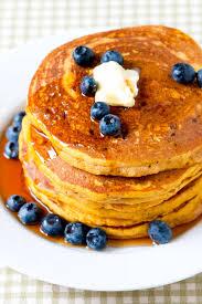 blueberry pancake recipe easy homemade pumpkin pancakes recipe