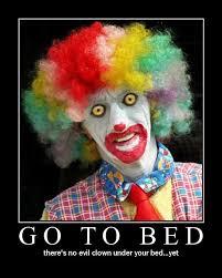 Scary Clown Meme - wednesday 03 08 2017 it s clown week the daily kitten