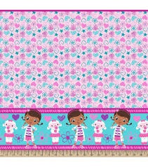 doc mcstuffins wrapping paper disney doc mcstuffins mock smock fabric 21 doc and lambie joann
