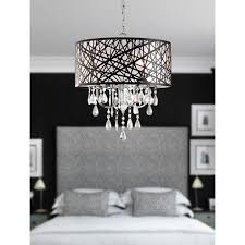 Crystal And Bronze Chandelier Illuminate Your Room Of Choice With This Sparkling Chrome
