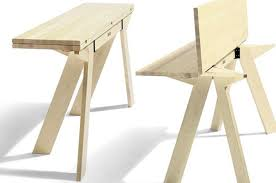 Wooden Collapsible Kitchen Table  SMITH Design  Making A DIY - Collapsible kitchen table
