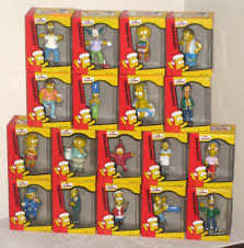 simpsons ornaments with store display homer nelson burns