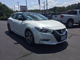used certified one owner 2017 nissan maxima sl marlborough ma