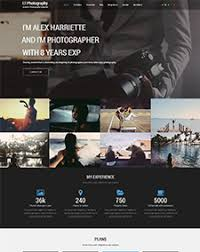 lt photography onepage u2013 free one page photography joomla template