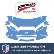 logo mazda 2016 3m mazda mx5 miata 2016 clear bra precut paint protection film kit