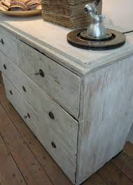 Swedish Painted Furniture Swedish Late 19th Century Chest Of Drawers New White Paint In