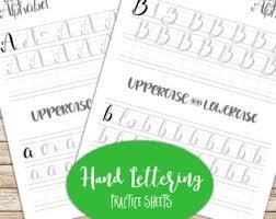 handwriting practice etsy