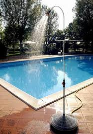 Outdoor Pool Showers - portable outdoor shower designs