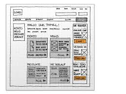 25 best great wireframe examples images on pinterest wireframe