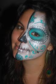 17 best halloween face painting images on pinterest sugar skulls