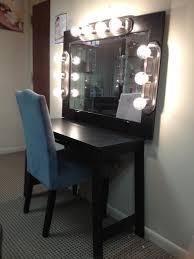 Vanity Diy Ideas Makeup Vanity Table With Lighted Mirror Lighting Diy Ideas Of