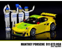 porsche lego lego porsche 911 gt3 rsr the new porsche 911 gt3 rsr is re u2026 flickr