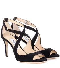 emily 85 suede sandals jimmy choo mytheresa com