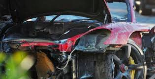 porsche gt crash were outdated tires the cause walker s deadly crash