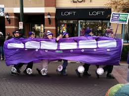 purple line pulls into silver thanksgiving parade greater