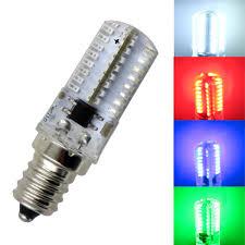 C7 Led Light Bulbs by E12 Candelabra C7 Led Light Bulb Red Blue Green White 64 3014 Smd