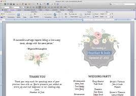 wedding bulletin templates free wedding program templates masterforumorg 21gowedding