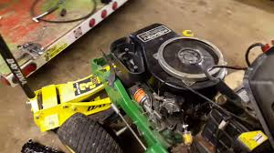 john deere 325 engine rebuild first start up test youtube