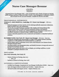 Cover Letter Examples Resume by Nurse Case Manager Cover Letter Sample Resume Companion