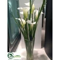 Acrylic Flower Vases Acrylic Water Flower Arrangement Silk Flower Arrangement Faux