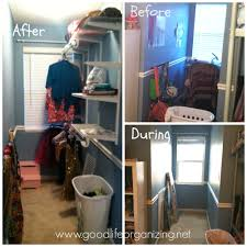 Organizing A Closet by Transforming A Dormer Transformation Tuesday Good Life Organizing