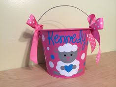 personalized wicker easter baskets custom wicker easter baskets with monogramming pink blue yellow