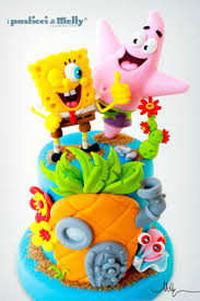spongebob squarepants cake spongebob cake decorations