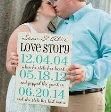 engagement photo props wedding sign your words engagement photo prop painted wedding