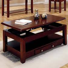 Turn Coffee Table Into Dining Table Adjustable Lift Top Coffee Tables Storage Image Of Square Images