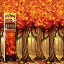 Fall Tree Decorations Fall Trees Scene Setter Room Roll