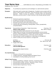 Job Resume Qualifications Examples by 100 Monster Resume Download Pdf Construction Trucks