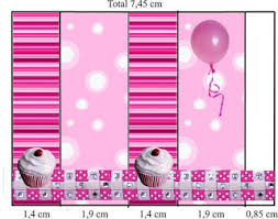 pink cupcakes themed party free printable candy buffet labels