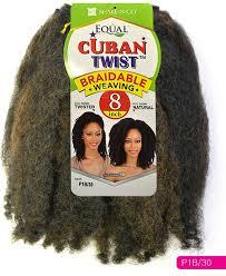 cuban twist hair freetress equal cuban twist braidable weaving 8 12 inch