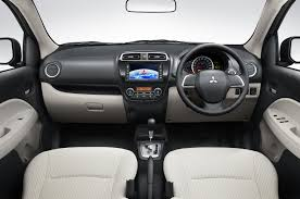 mirage mitsubishi interior autovelos mitsubishi mirage price details india