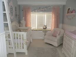 Pink And Grey Nursery Curtains by Touch Of Pink Nursery Design Dazzle