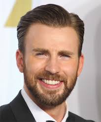 chris evans short straight formal hairstyle light brunette ash