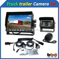 7 pin trailer plug truck trailer rear view camera systems lw 70a
