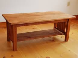 handmade coffee table handmade mission coffee table in cherry custom shaker vermont table