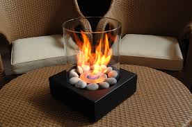 Ethanol Fire Pit by Stunning Small Ethanol Smokeless Fireplace Around White Painted